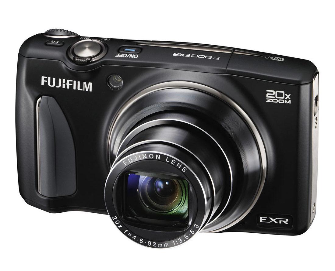 Fujifilm FinePix F900EXR With 20x Zoom Lens