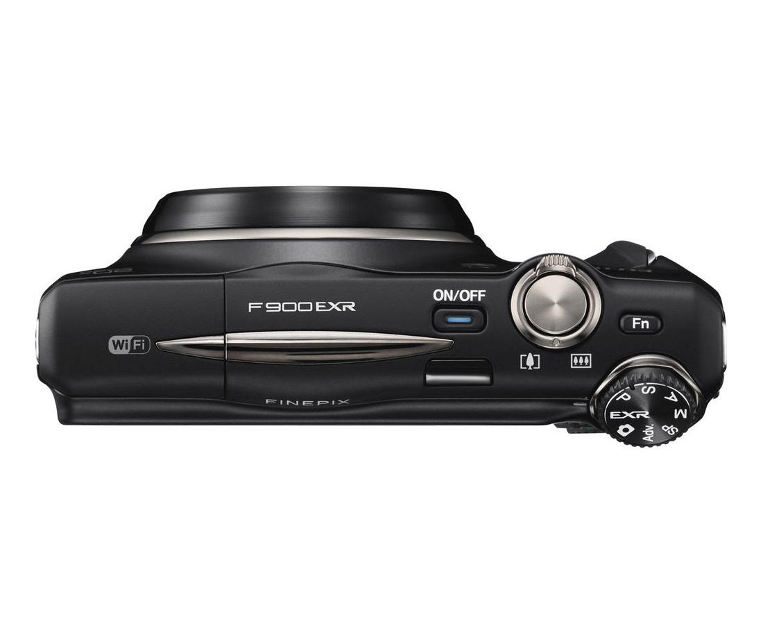 Fujifilm FinePix F900EXR - Top View