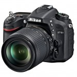 Nikon D7100 24-Megapixel HD-SLR - Left Front View
