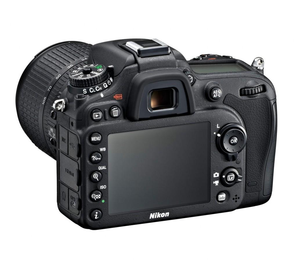 Nikon D7100 DSLR - Left Rear View