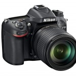 Nikon D7100 Digital SLR - Right Front View
