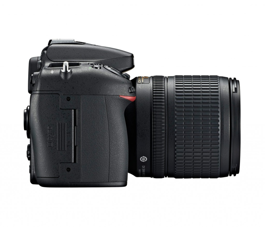 Nikon D7100 - Side View With 18-105mm Lens