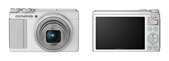 Olympus Stylus XZ-10 Premium Compact Camera - Front & Back