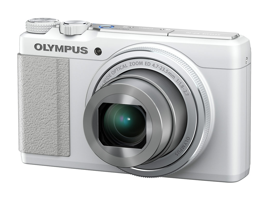 Olympus Stylus XZ-10 Pocket Camera With f/1.8 Lens - White