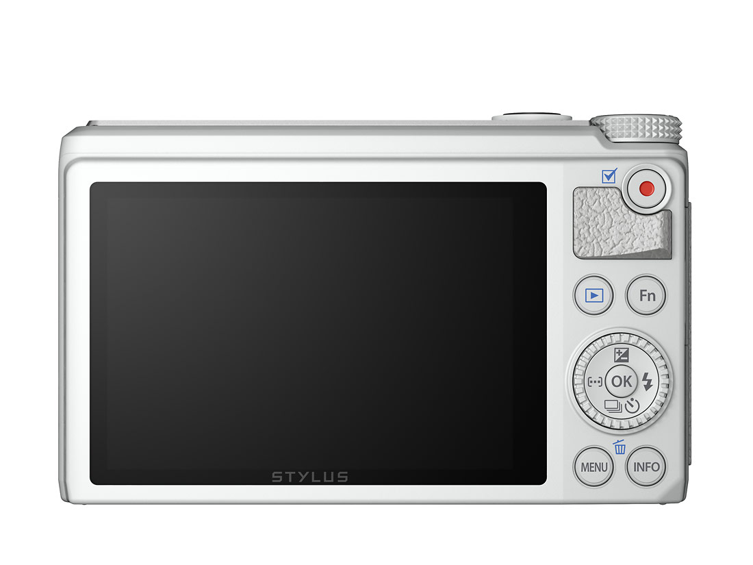Olympus Stylus XZ-10 With Touchscreen LCD - White