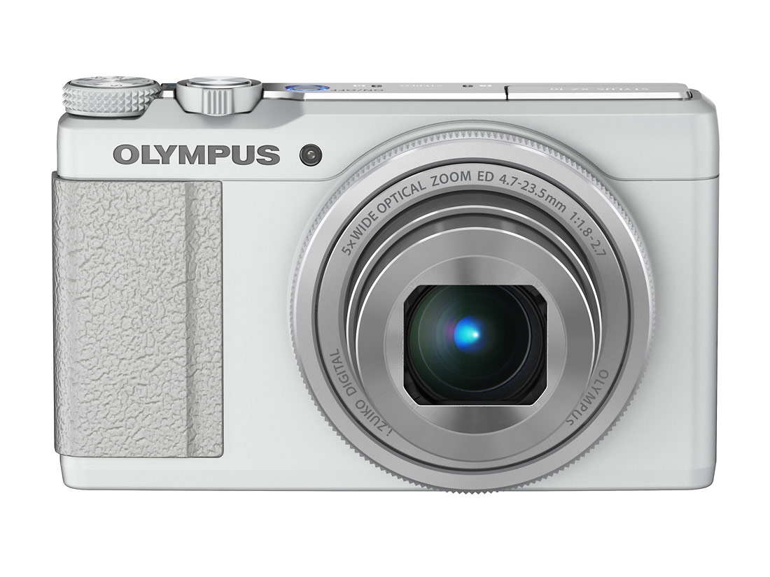 Olympus Stylus XZ-10 High-End Pocket Camera - White