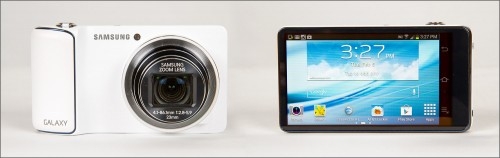 Samsung Galaxy Camera - Front & Back