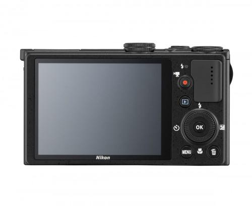 Nikon Coolpix P330 - Rear View