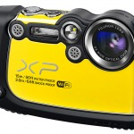 Fujifilm FinePix XP200 Rugged Point-and-Shoot With Wi-Fi - Hot Yellow