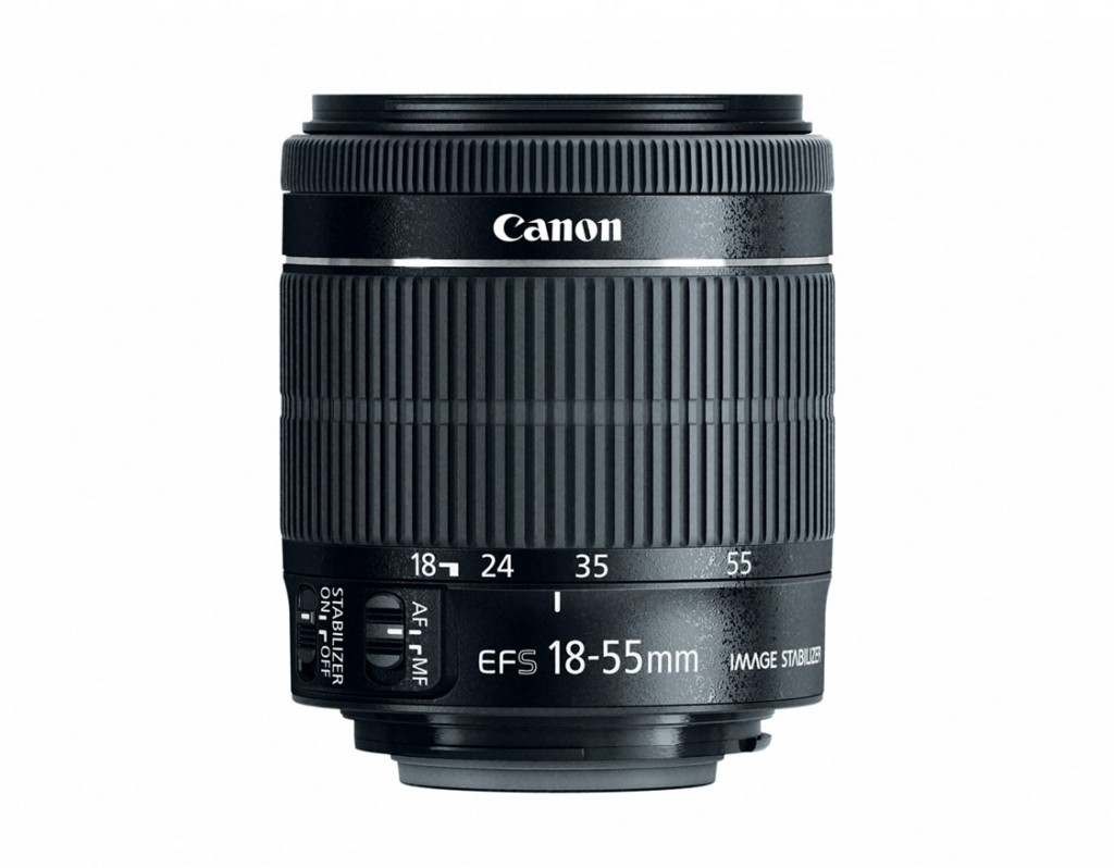 New Canon EF-S 18-55mm f/3.5-5.6 IS STM Kit Lens