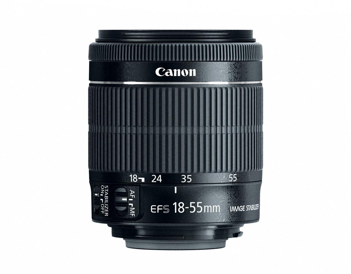 New Canon EF-S 18-55mm f/3.5-5.6 IS STM Kit Lens
