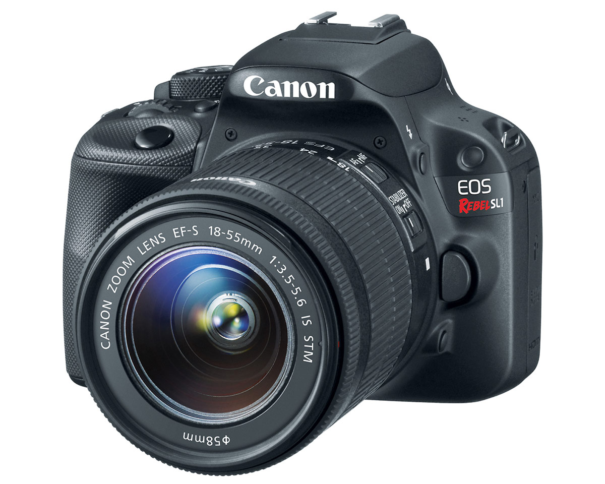 Canon EOS Rebel SL1 - World's Smallest DSLR