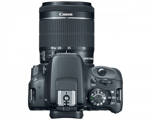 Canon EOS Rebel SL1 - Top View & New 18-55mm STM Kit Lens