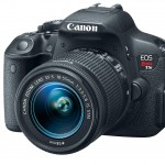 Canon EOS Rebel T5i / EOS 700D - Front Angle View