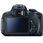 Canon EOS Rebel T5i / EOS 700D - Rear View With 3-inch Touchscreen Display