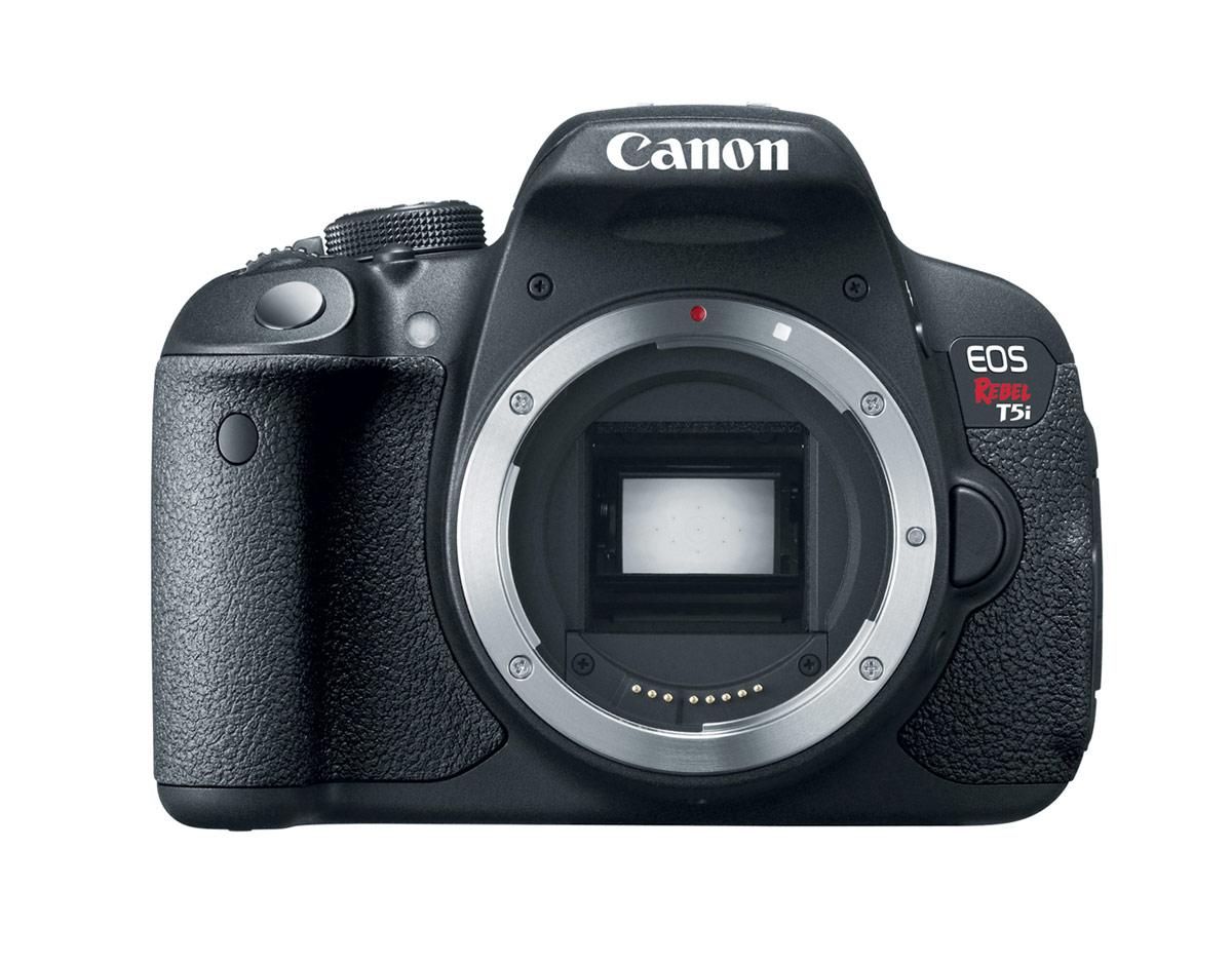 Canon EOS Rebel T5i - 18-megapixel APS-C CMOS Sensor