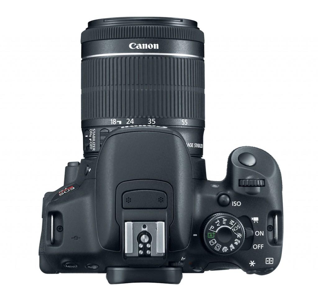 Canon EOS Rebel T5i / EOS 700D - Top View & Controls