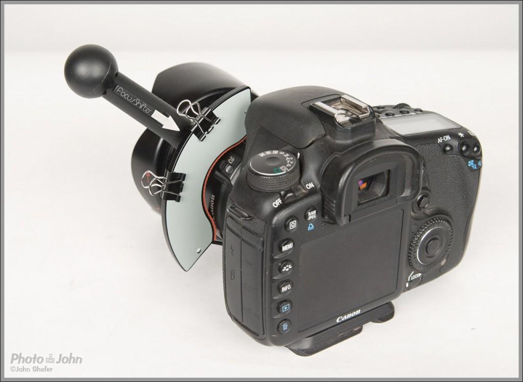 Focus Shifter Follow Focus On Canon EOS 7D