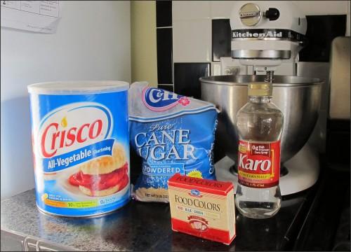 Fake Photo Prop Ice Cream Ingredients