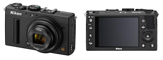 Nikon Coolpix A Professional Pocket Camera - Front & Back