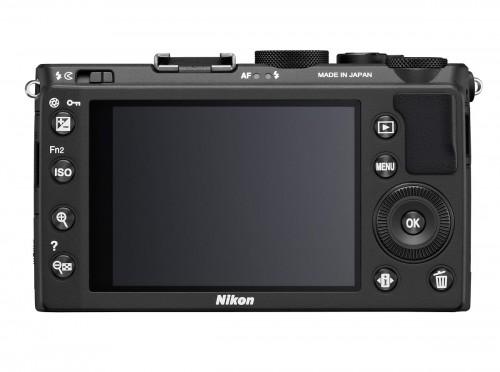 Nikon Coolpix A High-End Pocket Camera - Rear View