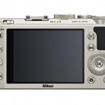 Nikon Coolpix A - Rear View - Silver