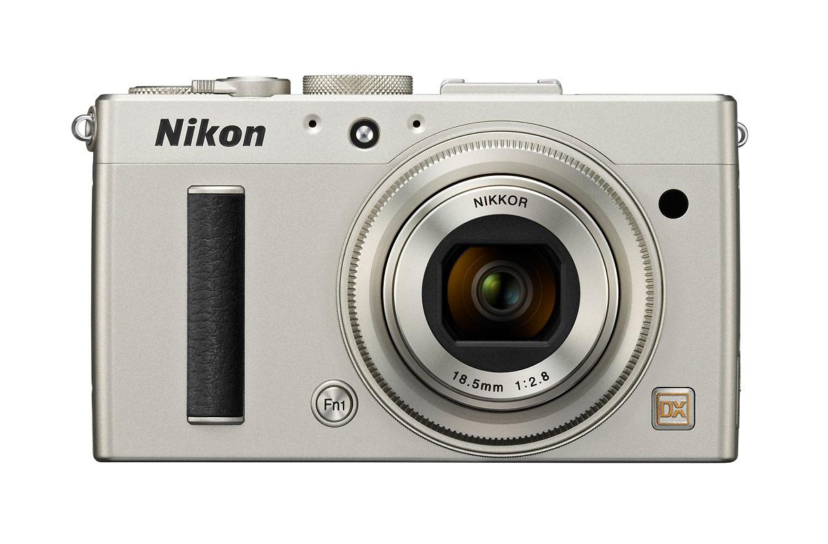 Nikon Coolpix A DX-Format Compact Camera - Silver