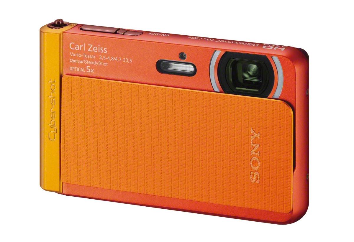Sony Cybershot TX30 Waterproof P&S Camera - Orange