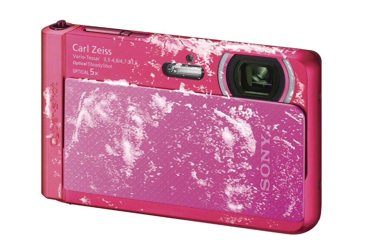 Sony Cybershot TX30 Rugged Outdoor Camera - Freezeproof - Pink