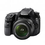 Sony Alpha SLT-A58 DSLR - Front Left