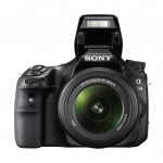 Sony Alpha SLT-A58 DSLR - Pop-Up Flash