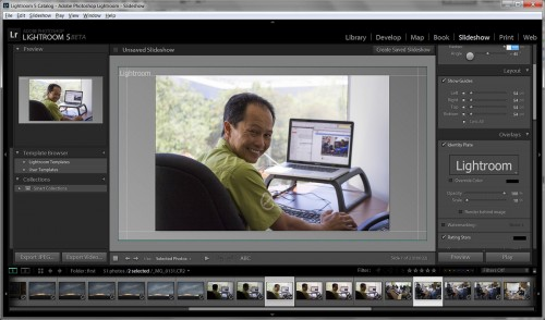 Adobe Lightroom 5 Beta - New Slideshow Module