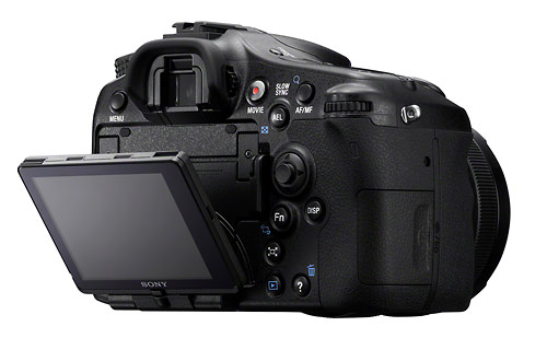 Sony Alpha SLT-A77 - Tilt-Swivel LCD Display