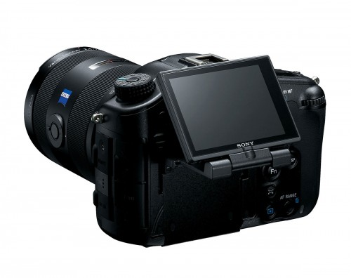 Articulated LCD Display On The Sony Alpha SLT-A99 DSLR
