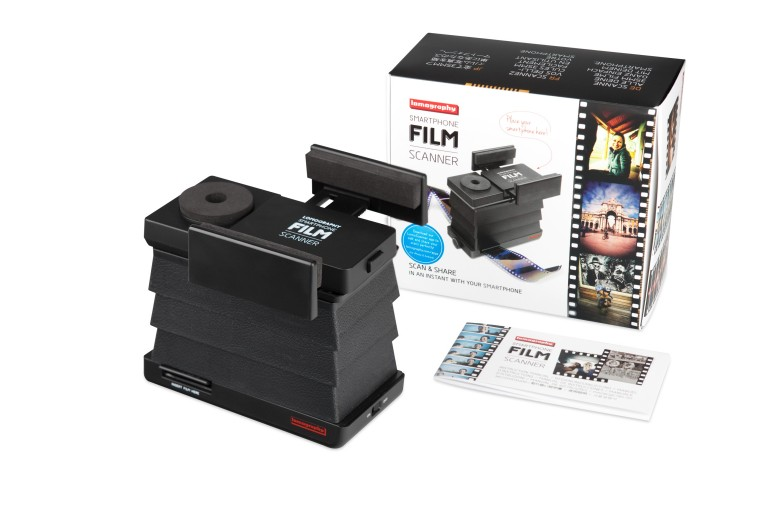 Lomography Smartphone Film Scanner - With Box
