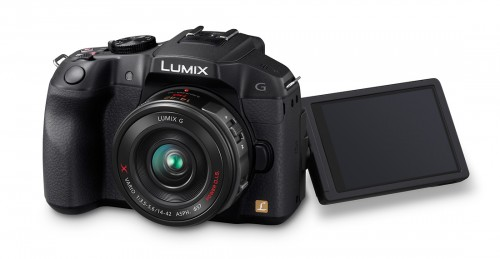 Panasonic Lumix G6 With Built-In Wi-Fi