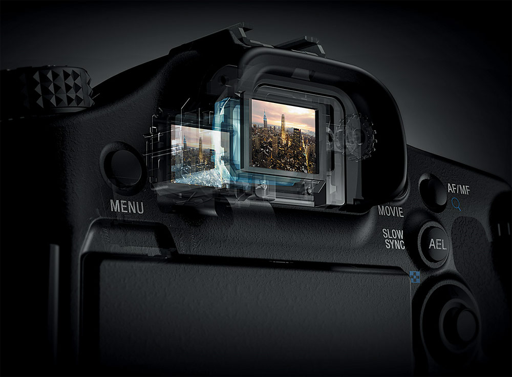 The Electronic Viewfinder In Sony's SLT Cameras