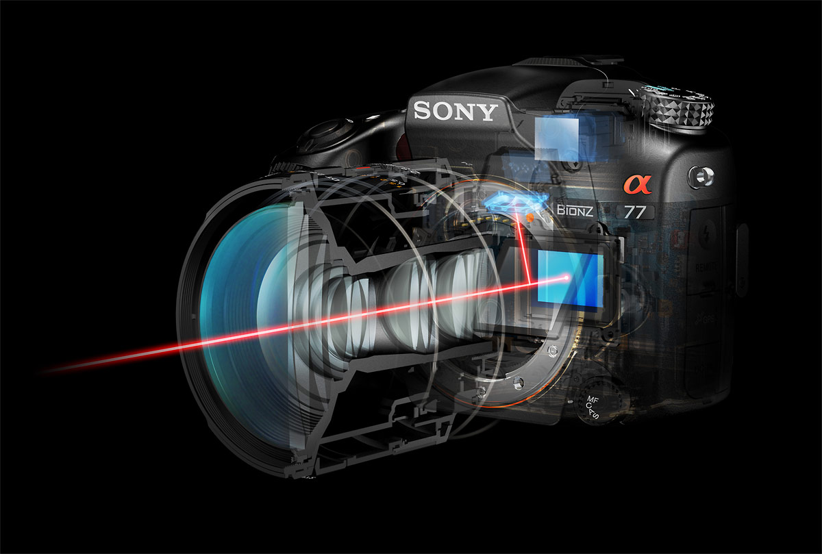 Sony SLT Camera Sensor & Electronic Viewfinder
