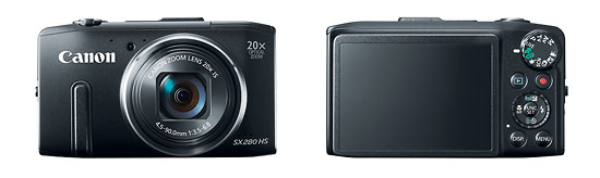 Canon PowerShot SX280 HS Pocket Superzoom Camera With Built-In Wi-Fi