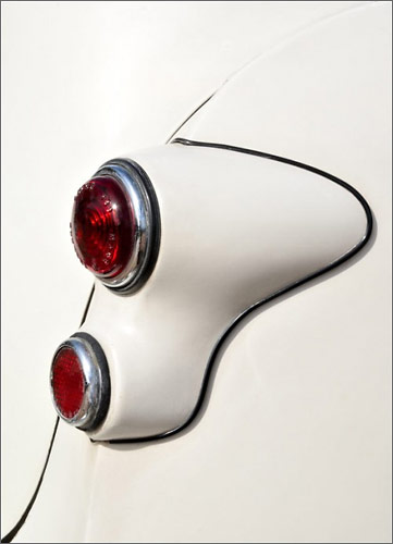 Tail Light On White by hminx
