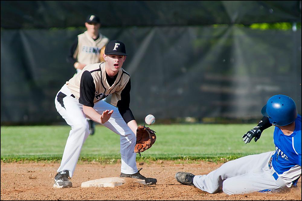 """High School Baseball"" by Old Timer"