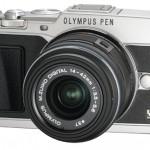 Olympus E-P5 Pen Camera - Silver - Angle