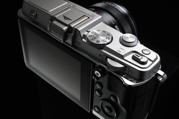Olympus E-P5 Pen Camera - Top - Controls