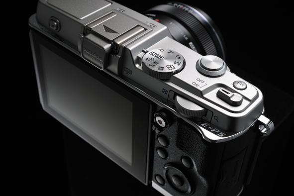 Olympus E-P5 Pen Camera - Top - Controls