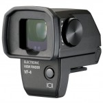 Olympus VF-4 Electronic Viewfinder - Side View