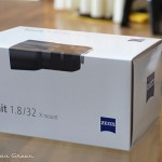 Zeiss Touit 1.8/32 Lens Sample: Lens Box