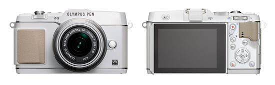 Olympus E-P5 Pen Camera - Front & Back