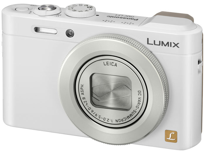 Panasonic Lumix LF1 Premium Pocket Camera - White - Off
