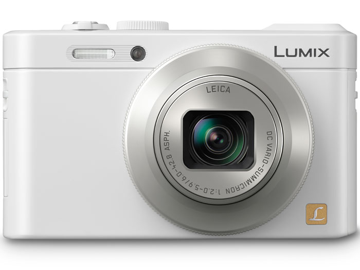 Panasonic Lumix LF1 Premium Pocket Camera With f/2.0 Lens & Built-In EVF - White