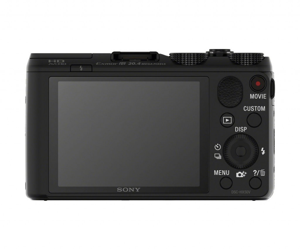 Sony Cybershot HX50V - Rear View